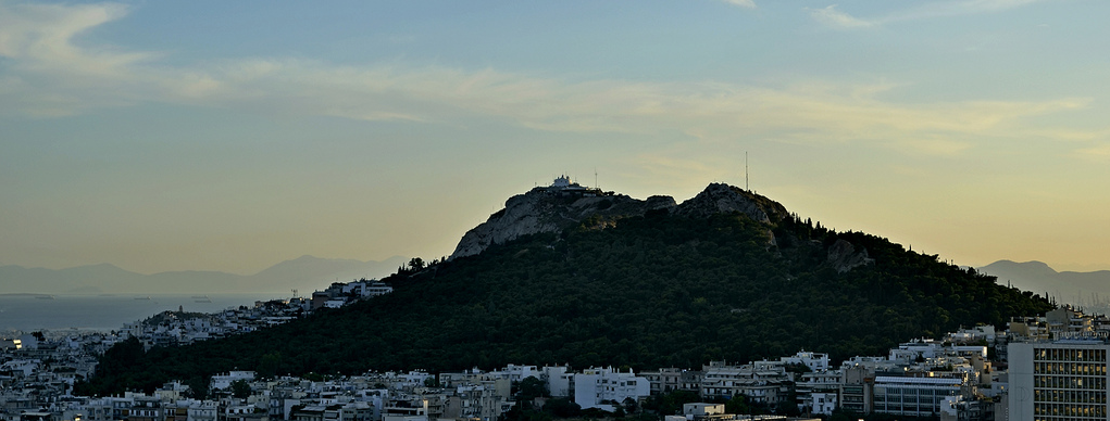 The Hill of Lycabettus, Athens