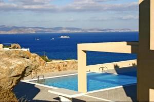 Captivating tower villa on Naxos island