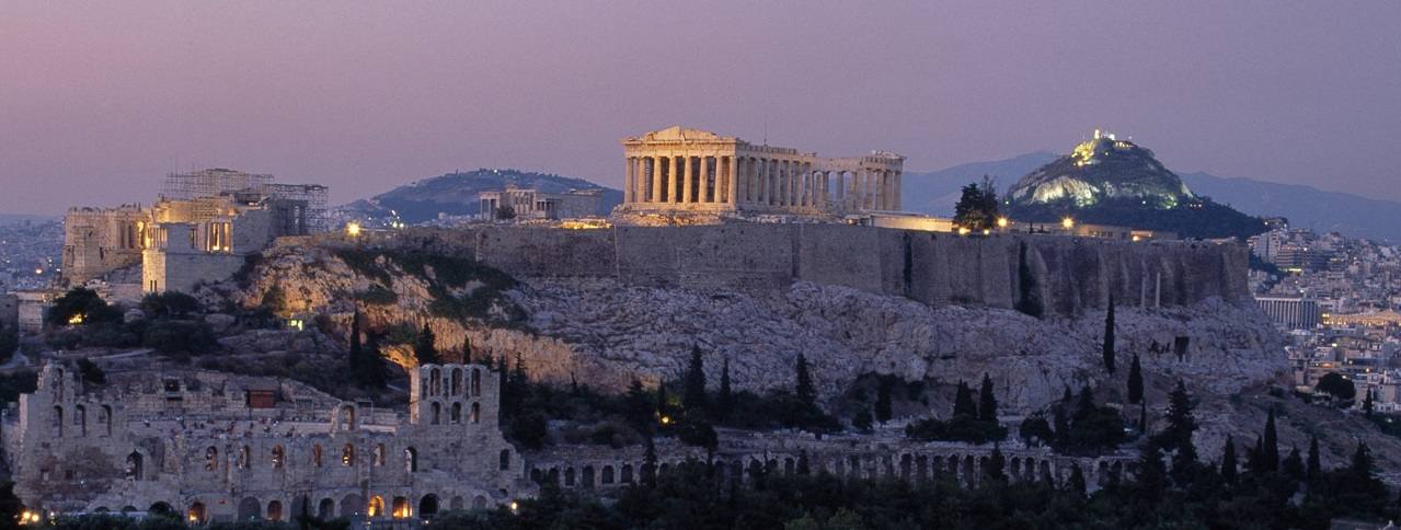 The Rock of Acropolis, Athens