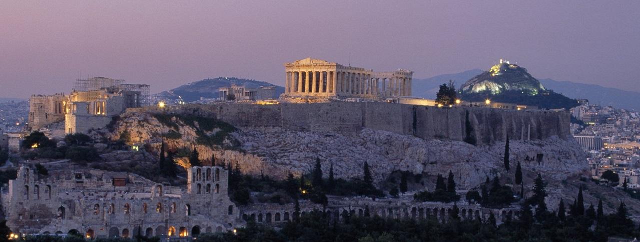 The Rock of Acropolis, Athens
