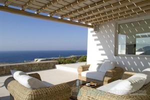 Huge villa on Myconos island