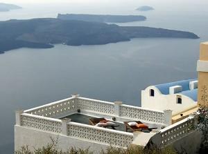 Unique country villa at Santorini