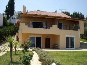 Villa located in Peloponnese